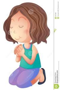 woman-praying-illustration-white-background-33072967